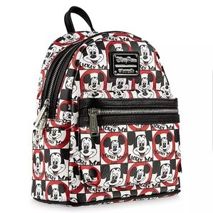 🐭NWT!🐭 Mickey Mouseketeer Loungefly Backpack